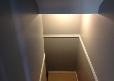 Sardis home stairway.