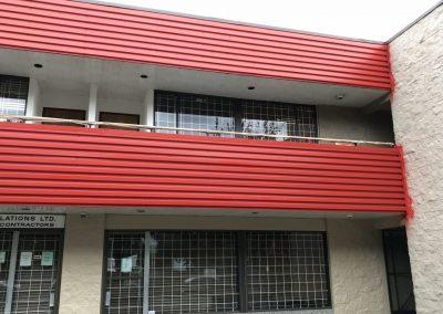 Surrey BC, commercial Building repaint 2018