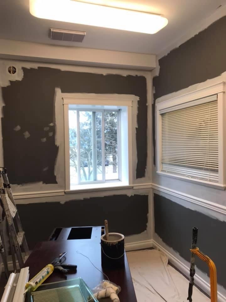 an office painted at Home Life in CHILLIWACK before