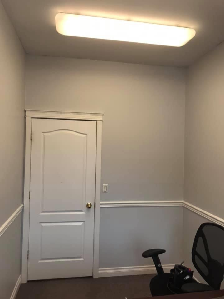 an office painted at Home Life in CHILLIWACK after